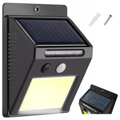 солнечная лампа 48 LED COB Датчик движения Сумерек