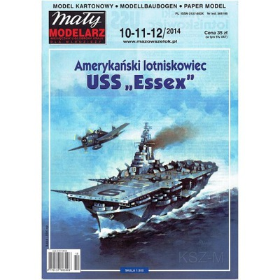 Маленький Модельер 10 -12 /14 - Авианосец USS Essex