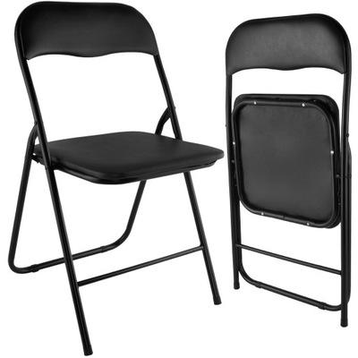 Krzesła Składane Biurowe Bankietowe Ogrodowe