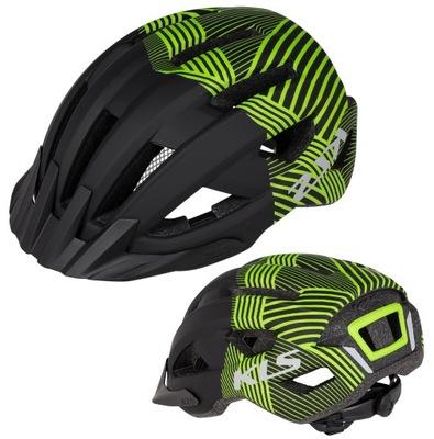 Juniorski Kask KELLYS DAZE black green S 52-55