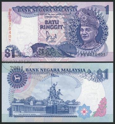 MAX - МАЛАЙЗИЯ 1 Малайзийский 1989 HE # P27b # UNC
