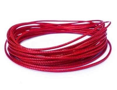 W21 ~ Ноль ,5 шнурок нейлоновый  5м красный