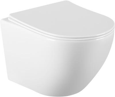 MEXEN Лена миска туалет без оправы крепления доска duroplast