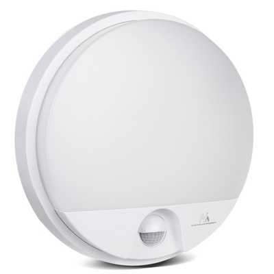 Лампа LED 15W датчик движения инфракрасный IP54