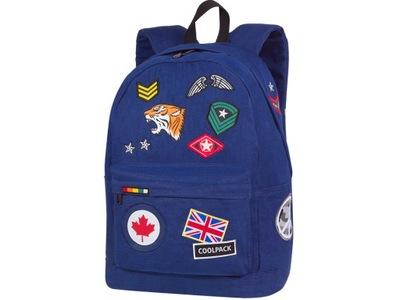 9d167c9e64ae6 Plecak CoolPack Cross Badges Black 89876CP nr A423 7446508086 ...