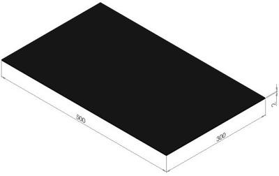 плита instagram маслостойкая резинка NBR 2x300x500 мм