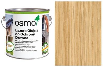 Olejové FARBY Pruská MODRÁ OSMO na terasy 0.75 L bezfarebný