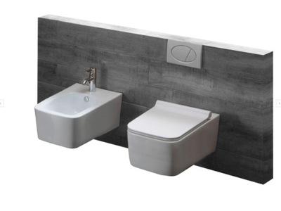MEXEN комплект Йорк миска туалет без оправы крепления доска + БИДЕ