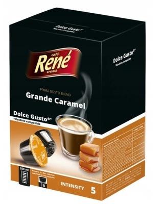 Rene капсулы Dolce Gusto GRANDE CARAMEL 16 kaps
