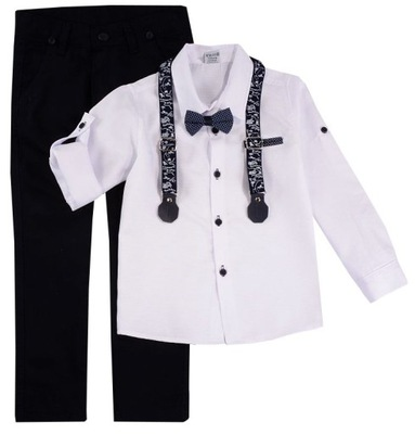 GARNITUR 9298 koszula mucha marynarka spodnie