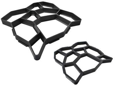 Шоколадный Мусс Форма для Брусчатки бетона 50x50cm