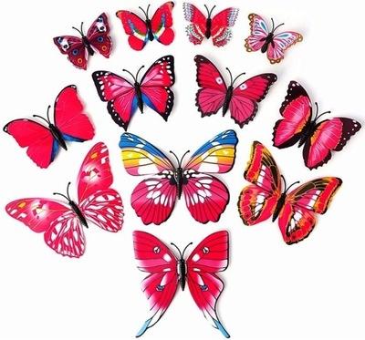 бабочки 3D бабочки МАГНИТЫ НА ХОЛОДИЛЬНИК instagram