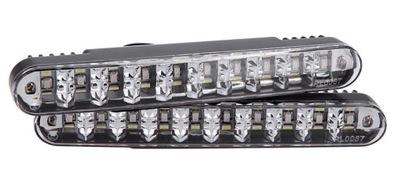 2 в 1 ДНЕВНЫЕ ходовые Огни+УКАЗАТЕЛИ поворота DRL 30 LED