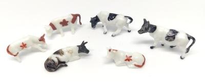 животные коровы на макет H0 1 :87 10 штук