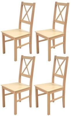 Krzesła Krzesło drewniane BUKOWE ANKA HIT PROMOCJA