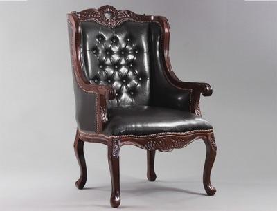 Красивый стильная Кресло pinboard резьбы