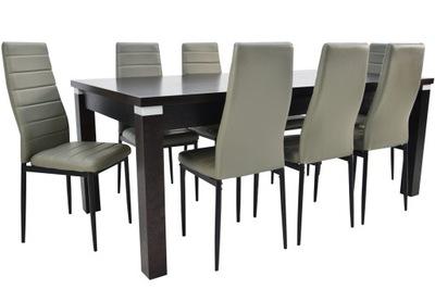 комплект 8 стульев и Большой ?????????? стол 100 /200 /290