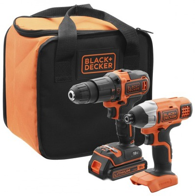 Sada nástrojov - SCREWDRIVER + SCREWDRIVER 18V ​​BLACK DECKER