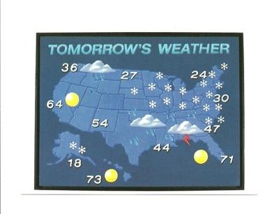 Pocztówka - Zimowa pogoda na jutro ... / zima ...