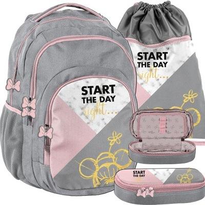 Školský batoh BALENÍ SADA ŠKOLY MLÁDEŽE pre dievčatá