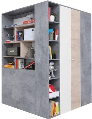 большая шкаф гардероб Угловой с выдвижными ящиками SIGMA 01