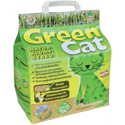 GREEN Cat натуральный КРОШКА zbrylający 24L +