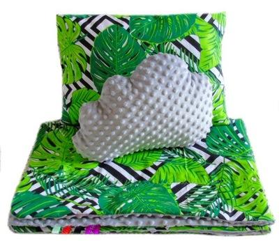 покрывало - одеяло ОДЕЯЛО 120x160+подушка +ЯСИК трикотаж
