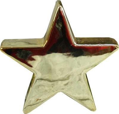фигурка Декоративная золото Звезда H14
