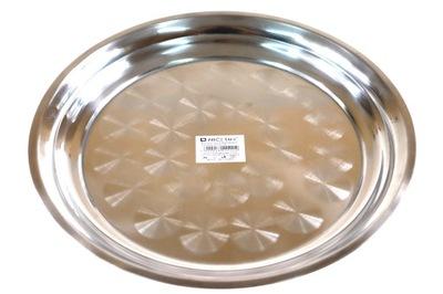 Лоток Металлический круглая сервировочная подставка TC2