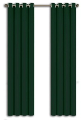 Матовые Готовые ШТОРЫ 145x250cm бутылку Зелень