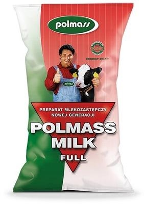 POLMASS MILK FULL 20кг Молоко-заменители для телят