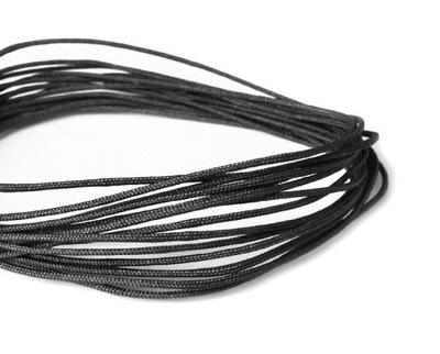 E01 ~ 1мм эксклюзивный шнурок нейлоновый 5м Черный
