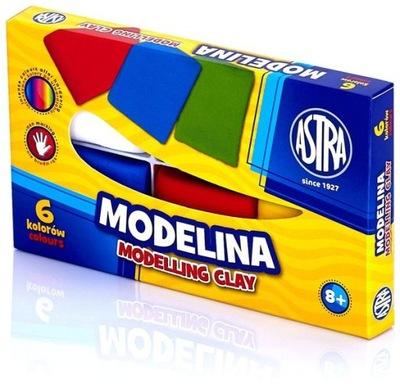 ASTRA Modelina kwadratowa 6 kolorów 40025 W-wa