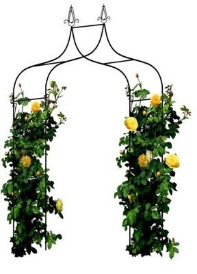 МЕТАЛЛИЧЕСКАЯ пергола ??? сада ЛУК ОПОРА цветы розочки