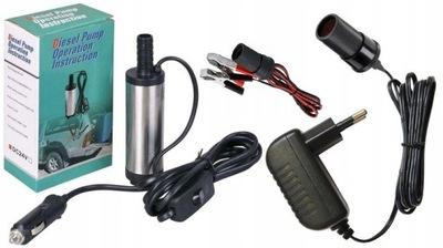 Pompa pompka paliwa wody ropy 38mm 12v/ 230v