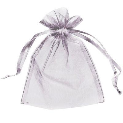 WORECZKI Z ORGANZY BIAŁE 7x9 ślub prezent 10 sztuk