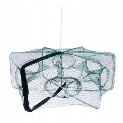 Składana 1-częściowa sieć rybacka - 6 otworów