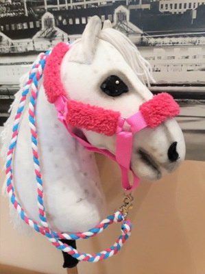 Kantar futerkowy + uwiąz-hobby horse-różne kolory