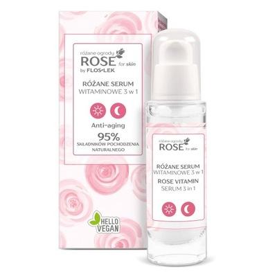 ROSE FOR SKIN Różane ogrody Różane serum wit.