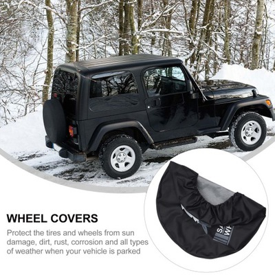 1pc Simple Car Tire Cover Durable Tire Protector
