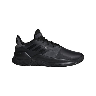 Adidas Streetflow Buty Do Koszykówki Czarny Biały Mężczyźni