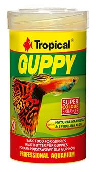 Tropical GUPPY 100 мл корм Для Гуппи