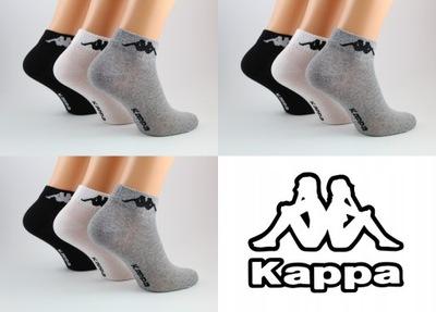 Zestaw skarpety Kappa quarter 3 x 3-pack 39/42 mul