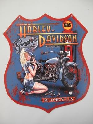BLASZANY SZYLD - HARLEY DAVIDSON MOTORCYCLES MOTOR