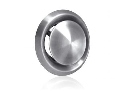Anemostat vzduchotechniku, z nehrdzavejúcej ocele, 200 mm