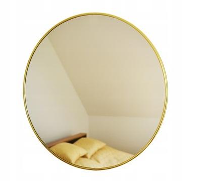 Okrúhle zrkadlo, zlatý kruh, priemer 100 cm