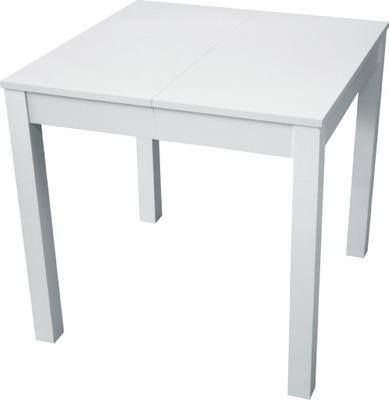Stół rozkładany biały 80x80-200cm PROMOCJA NOWOŚĆ
