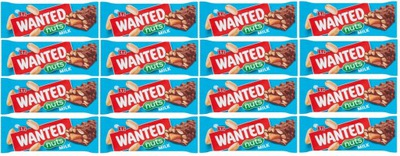 батон WANTED Nuts Milk Nugatowy Карамель 45 ? x16