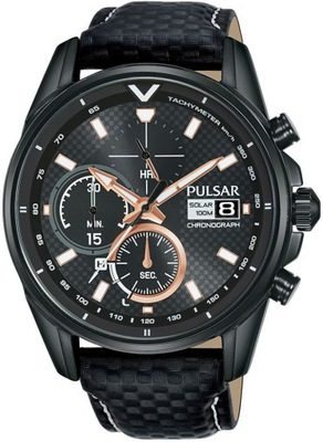 Zegarek Pulsar SOLAR Chrono PZ6033X1 +GRAWER
