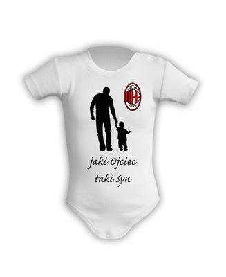 AC Milan, body dziecięce, Jaki Ojciec taki Syn, 74